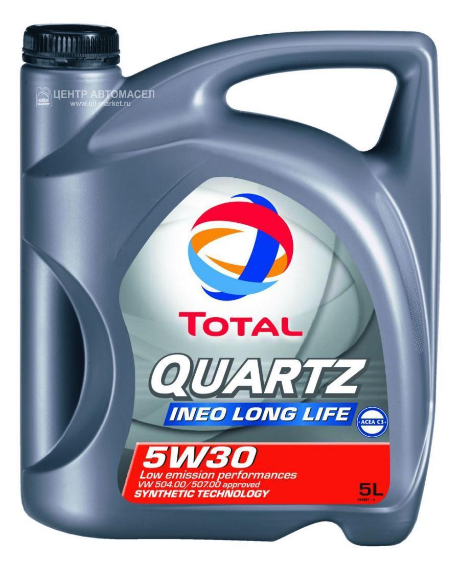 Масло Моторное Quartz Ineo Long Life 5w30, 5l Total арт. 213819