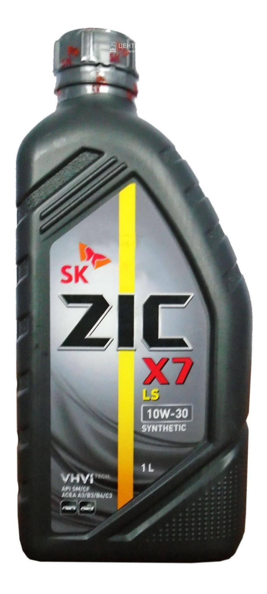 Масло моторное синтетическое X7 LS 10W-30, 1л