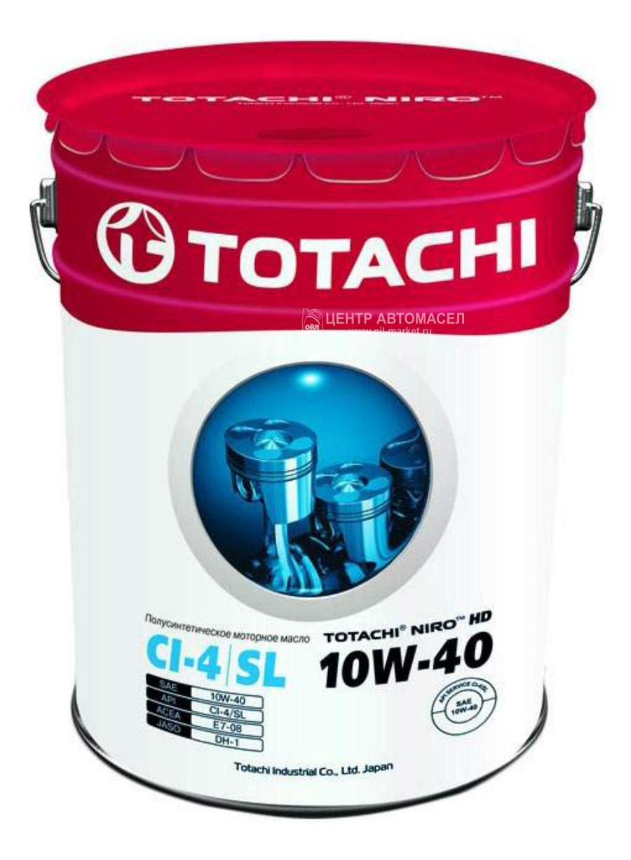 Масло моторное полусинтетическое Niro HD 10W-40, 19л