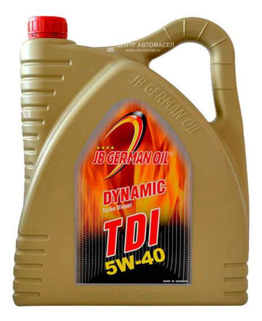 Масло моторное синтетическое DYNAMIC TDI 5W-40, 4л