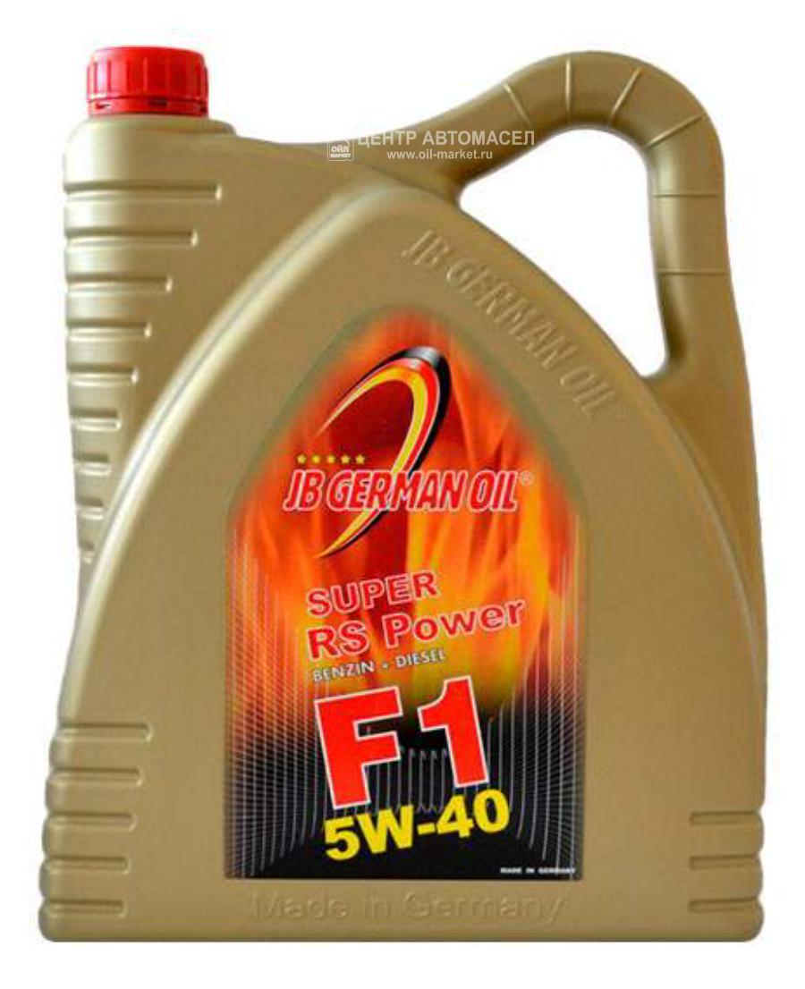 Масло моторное синтетическое Super F1 RS Power 5W-40, 4л