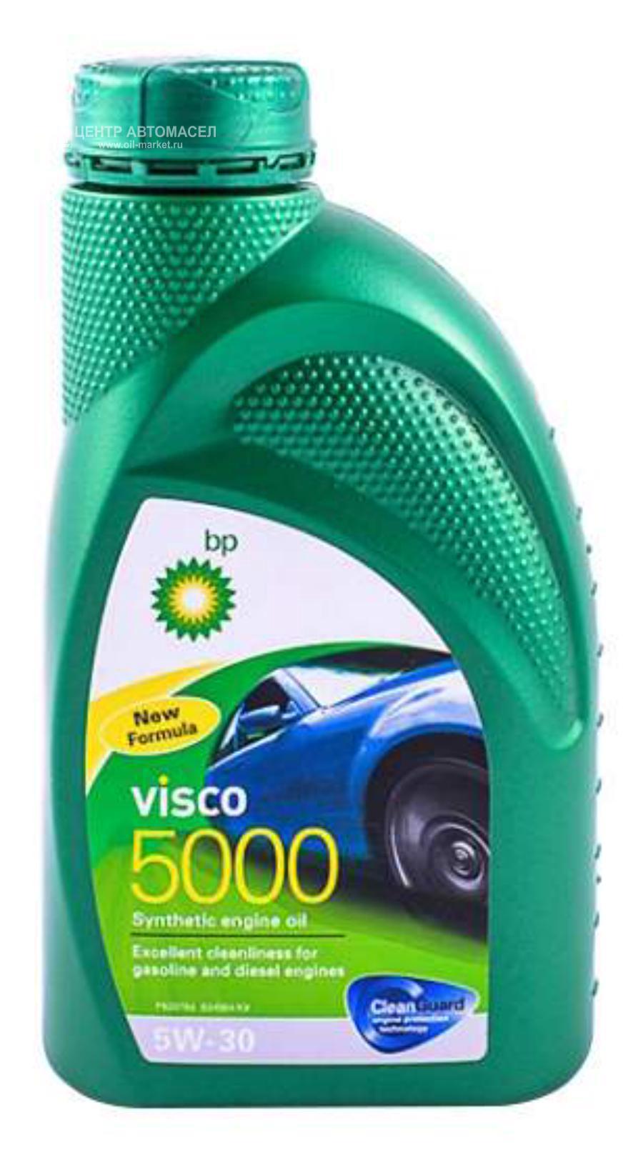 Масло моторное синтетическое Visco 5000 5W-30, 1л