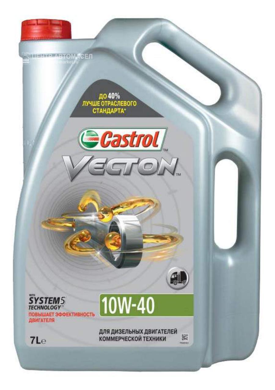 Масло моторное полусинтетическое Vecton 10W-40, 7л