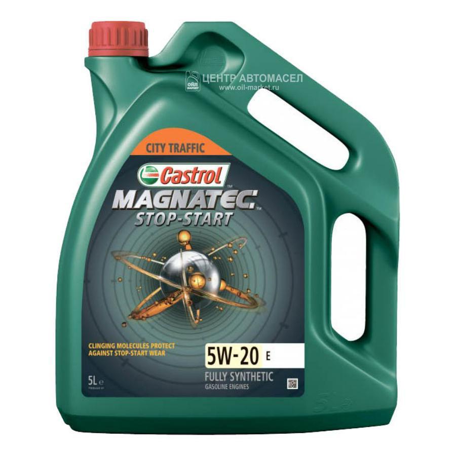 Масло моторное синтетическое Magnatec Stop-Start E 5W-20, 5л
