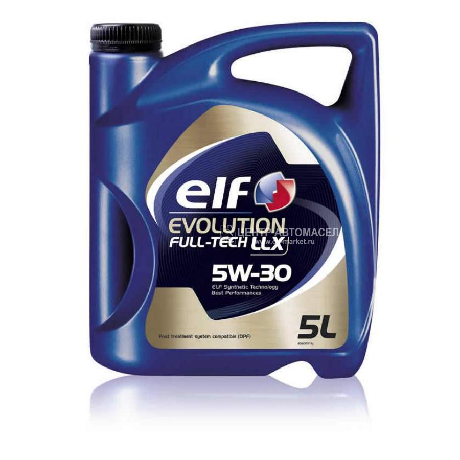 Масло моторное синтетическое Evolution Full-Tech LLX 5W-30, 5л