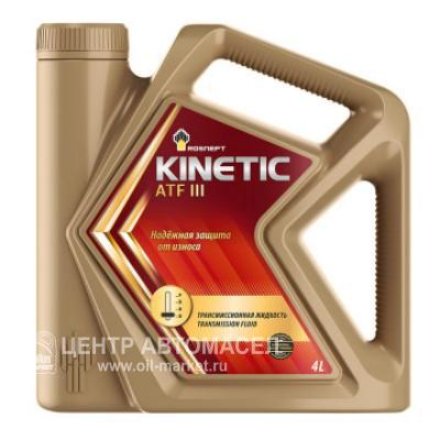 Масло трансмиссионное Kinetic ATF III, 4л
