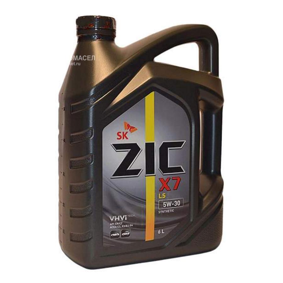 Масло моторное синтетическое X7 LS 5W-30, 6л