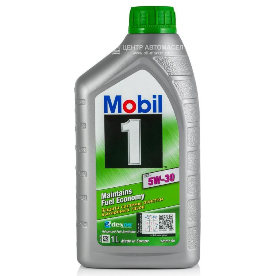 Масло моторное синтетическое Mobil 1 ESP Formula 5W-30, 1л