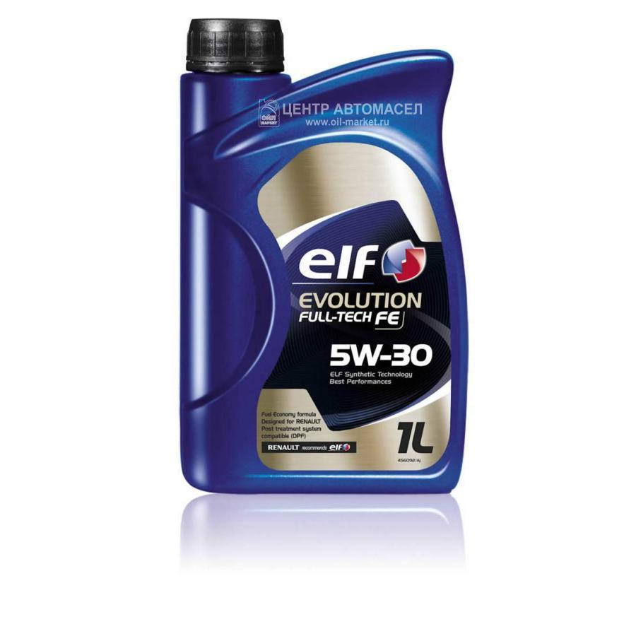 Масло моторное синтетическое Evolution Full-Tech FE 5W-30, 1л
