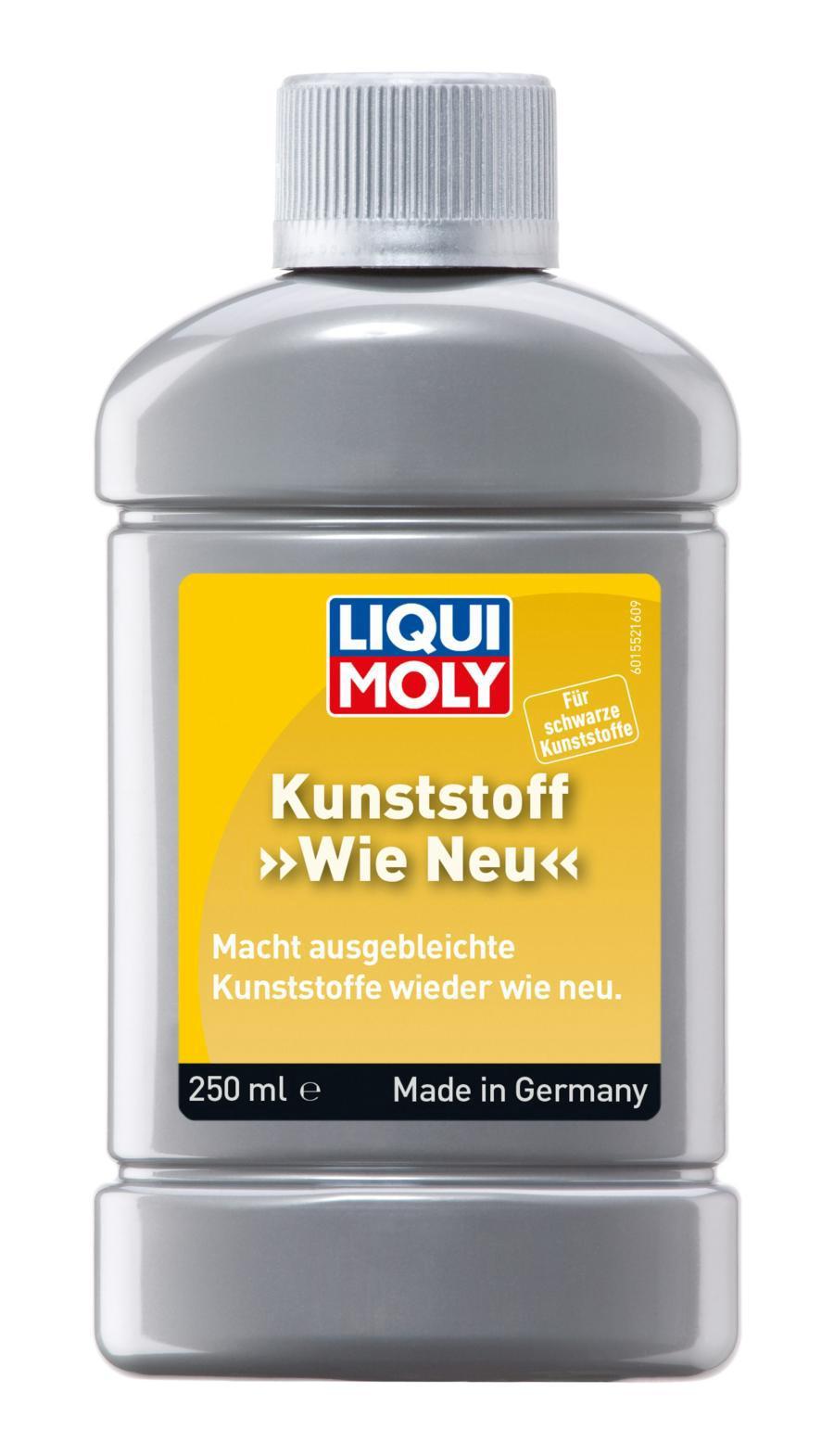 Средство для ухода за наружним чёрным пластиком Kunststoff Wie Neu (schwarz) 0,25л