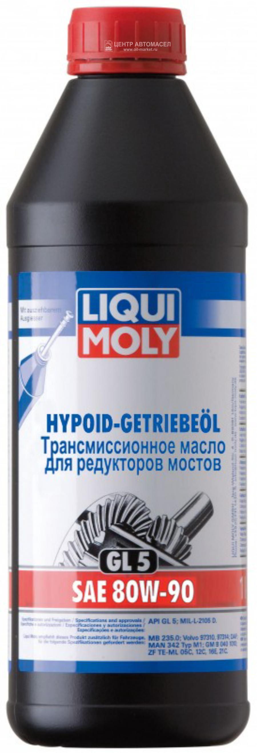 80W-90 GL5 HYP. 1л (мин.транс.масло)