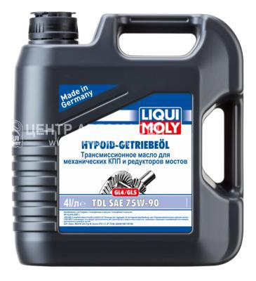 75W-90 GL4/GL5 Hypoid-Getriebeoil 4л (полусинт.транс.масло)