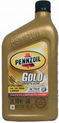Моторное масло Gold Synthetic Blend Motor Oil