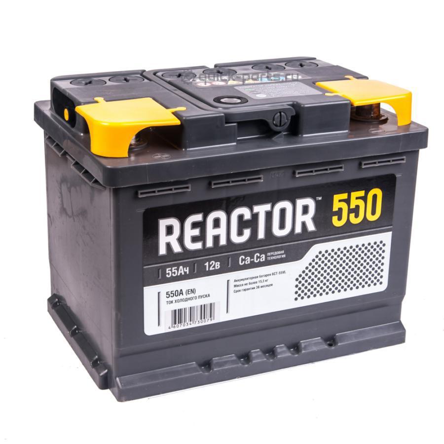 Аккумулятор АКОМ REACTOR 55 А/ч
