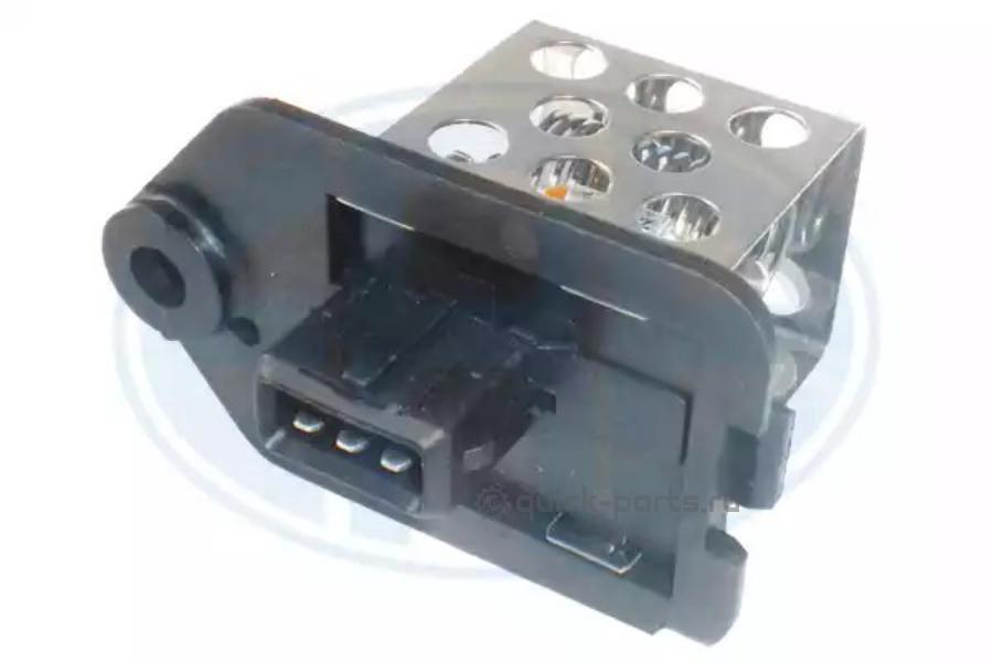 Дополнительный резистор, электромотор - вентилятор радиатора