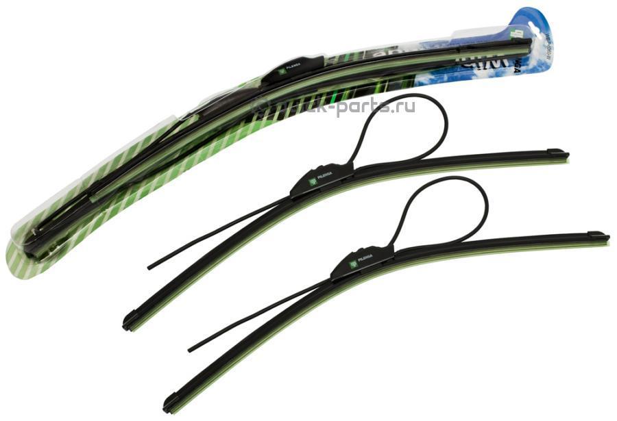 Комплект щеток стеклоочистителя бескаркасных 600mm+600mm для CHRYSLER, Pilenga