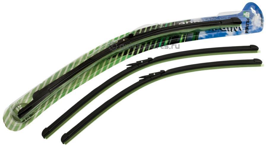 Комплект щеток стеклоочистителя бескаркасных 600mm+650mm для VAG, Pilenga