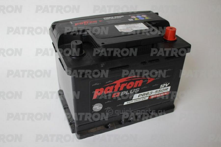 Аккумулятор PATRON PLUS