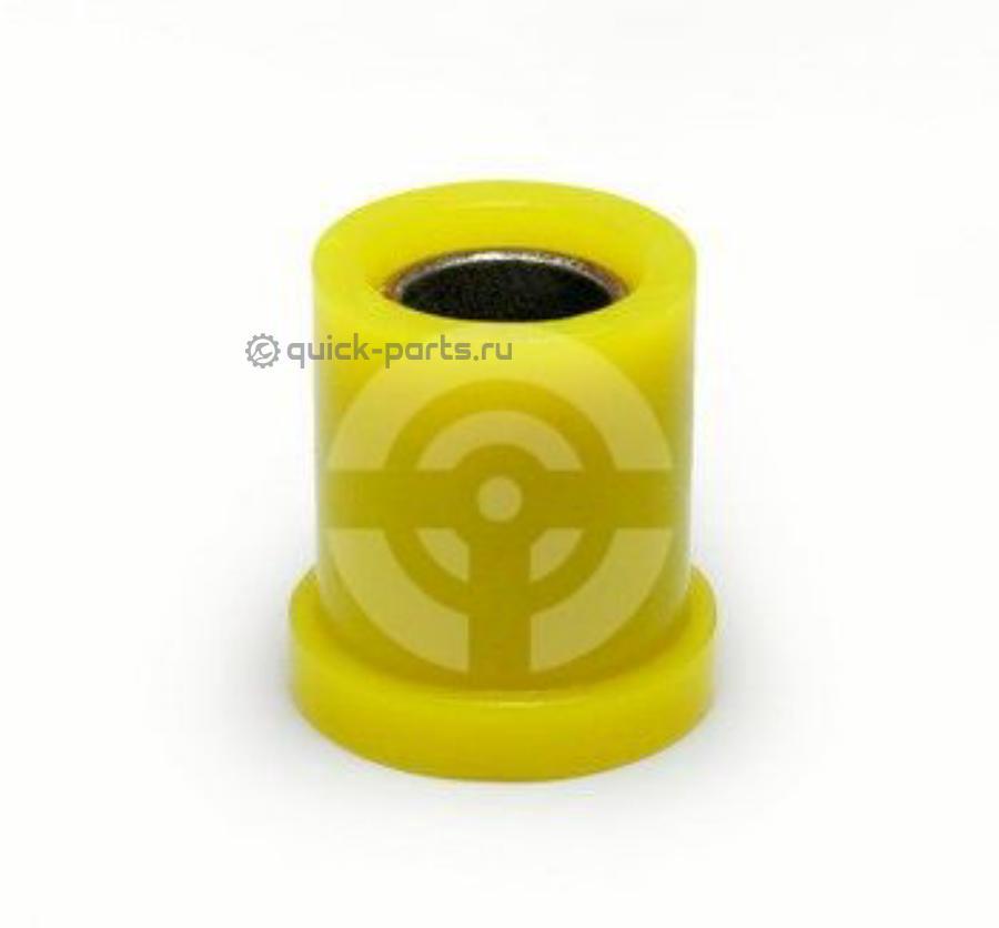 Сайлентблок полиуретановый задней подвески, рессоры, передний (армированная рессорная втулка)