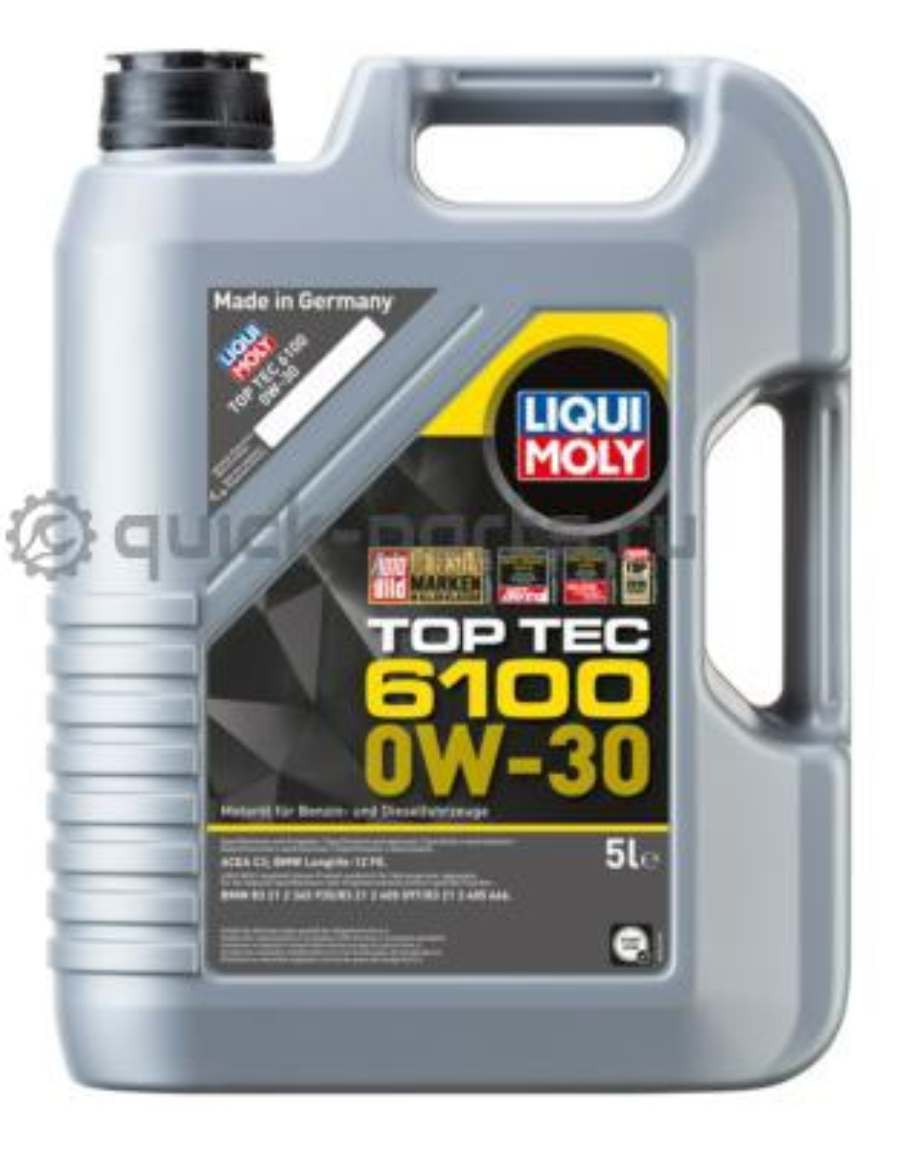 Масло моторное синтетическое Top Tec 6100 0W-30 C2 5л