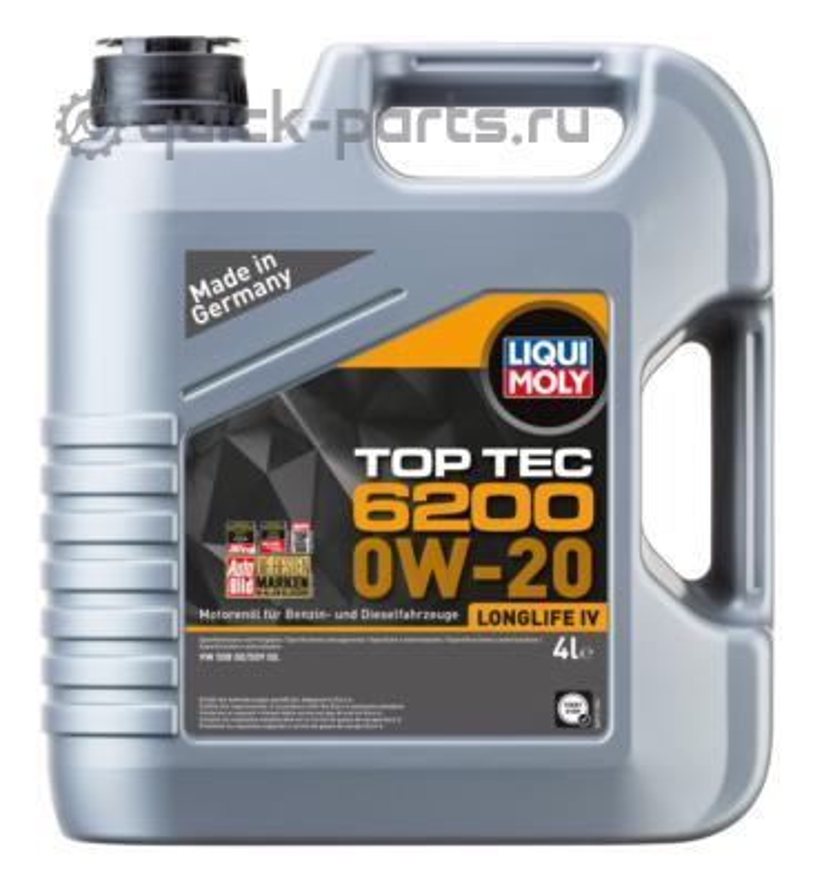 НС-синтетическое моторное масло Top Tec 6200 0W-20 4л