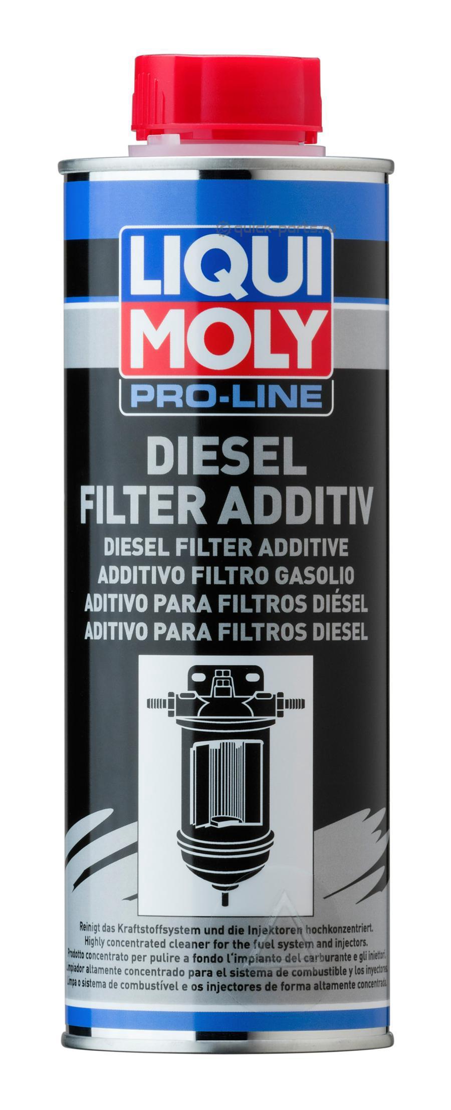 Присадка для дизельных топливных фильтров Pro-Line Diesel Filter Additive 0,5л