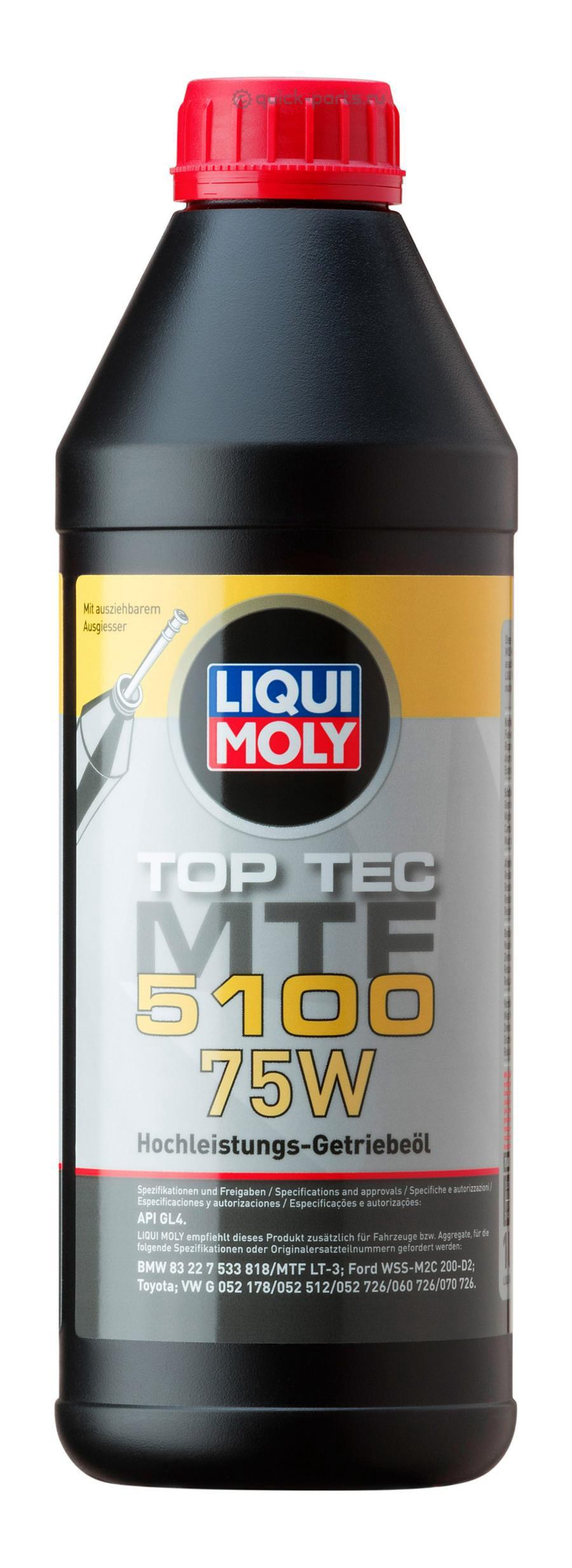 Масло трансмиссионное Top Tec MTF 5100 75W 1л