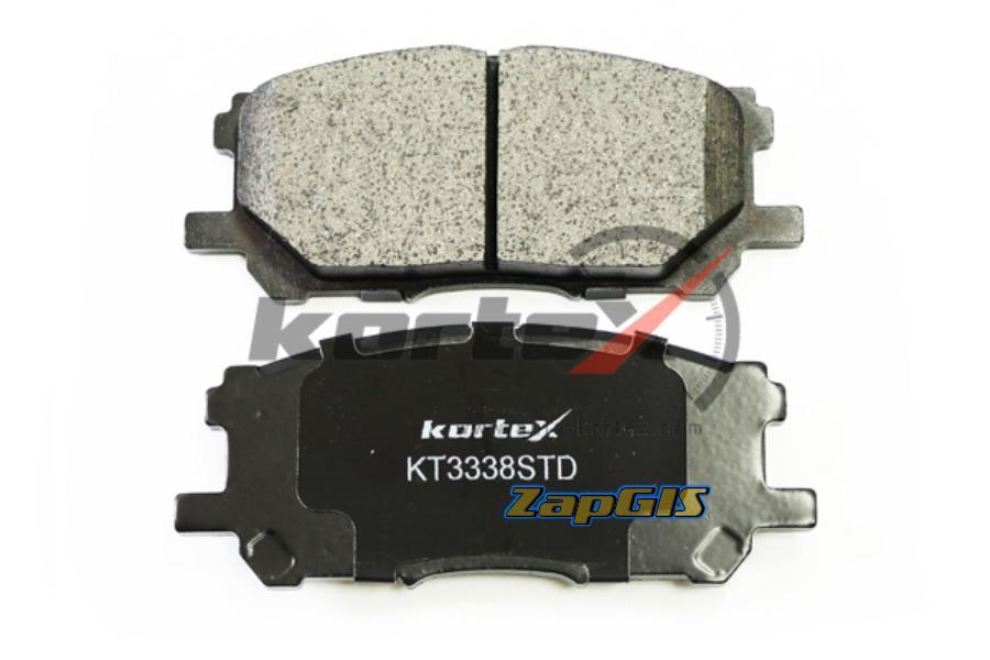 Колодки торм. LEXUS RX300 03- перед.к-т