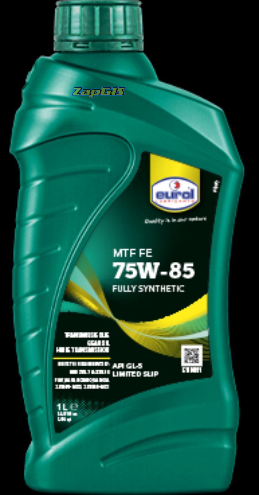"""Масло ступенчатой коробки передач """"Eurol MTF 75W GL4"""""""