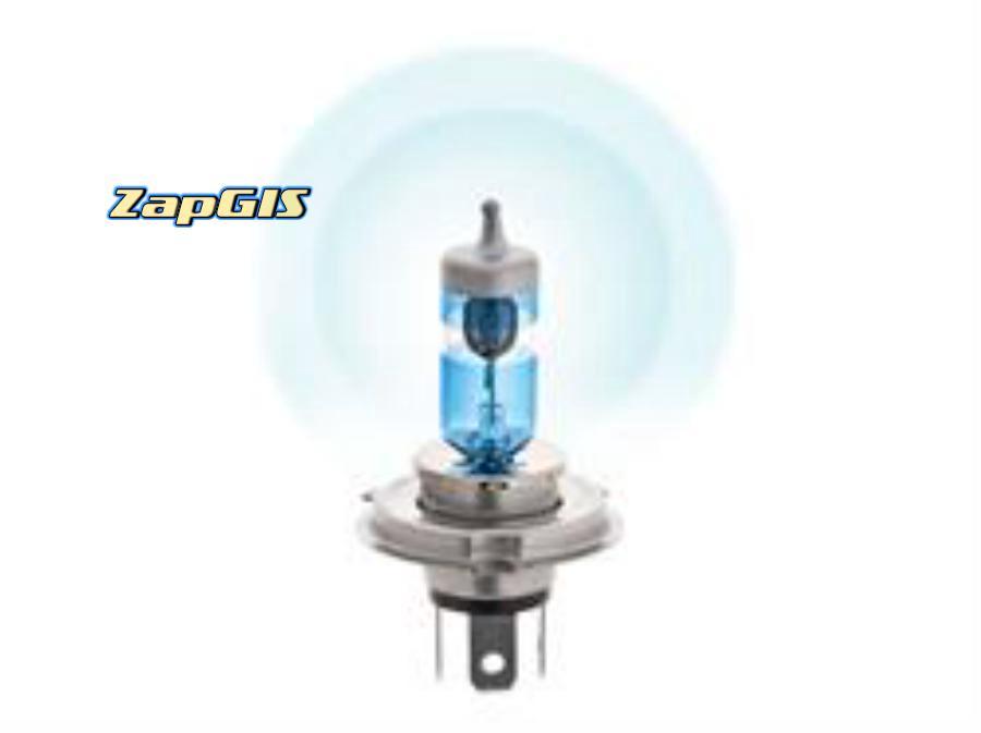 Автолампа h4 12v 60/55w (p43t) kraft pro +80% more light (2шт