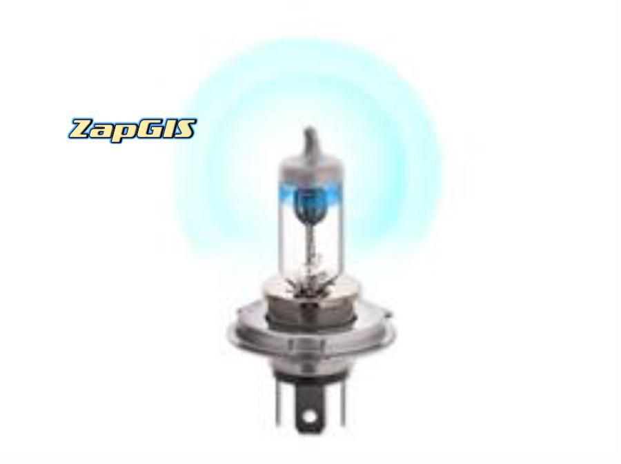 Автолампа h4 12v 60/55w (p43t) kraft pro +55% more light (2шт