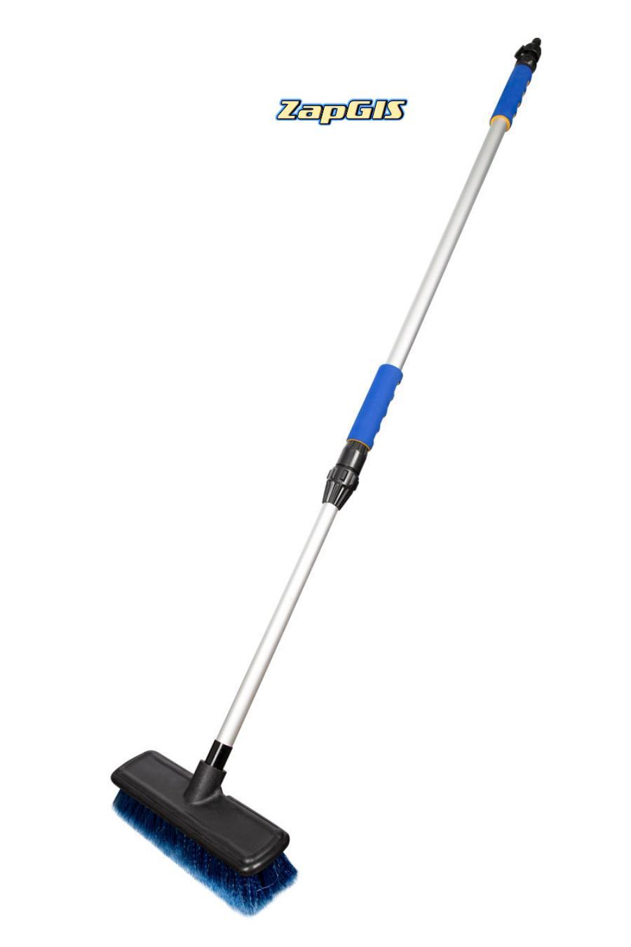 Щетка 20 см на шланг, с телескопической ручкой 170 см, KRAFT