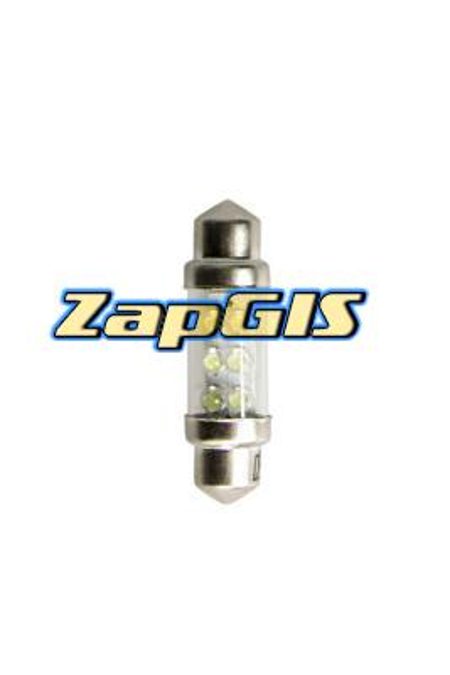 Светодиод C10W (SV8,5) 11x36 white