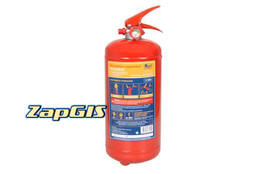 Огнетушитель порошковый оп2 ()