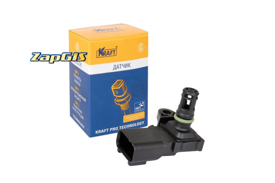 Датчик абсолютного давления Ford Focus II (05-) 1.4i/1.6i