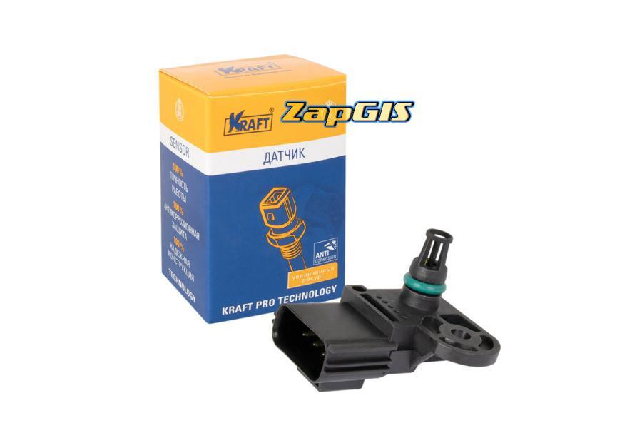 Датчик абсолютного давления Ford Focus II (05-), Mondeo IV (07-) 1.8i-2.0i