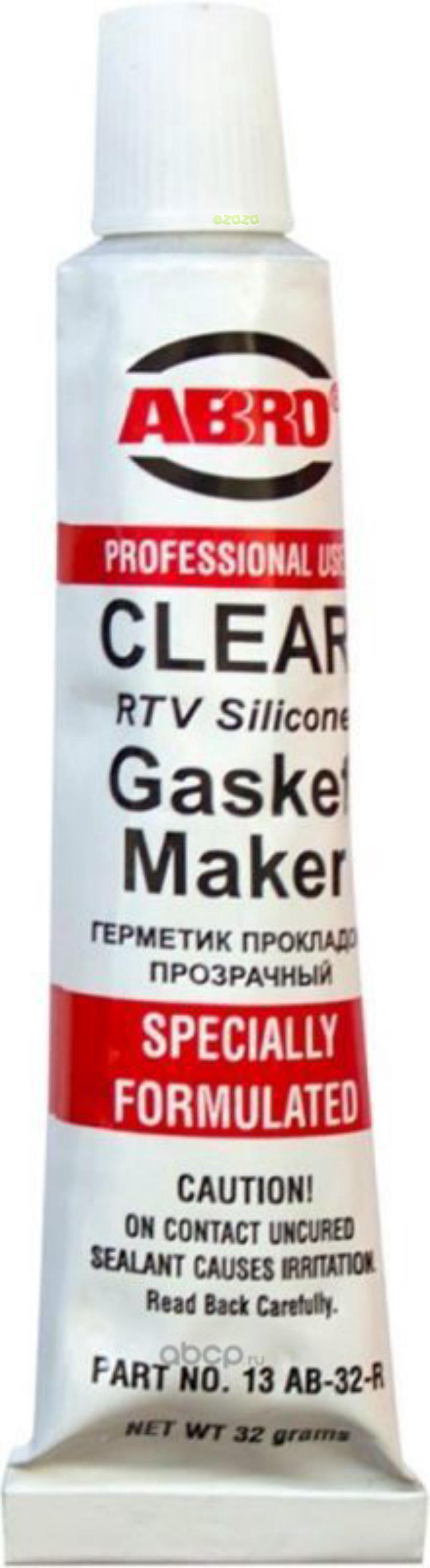 Герметик прокладок стандартный, прозрачный, 32гр