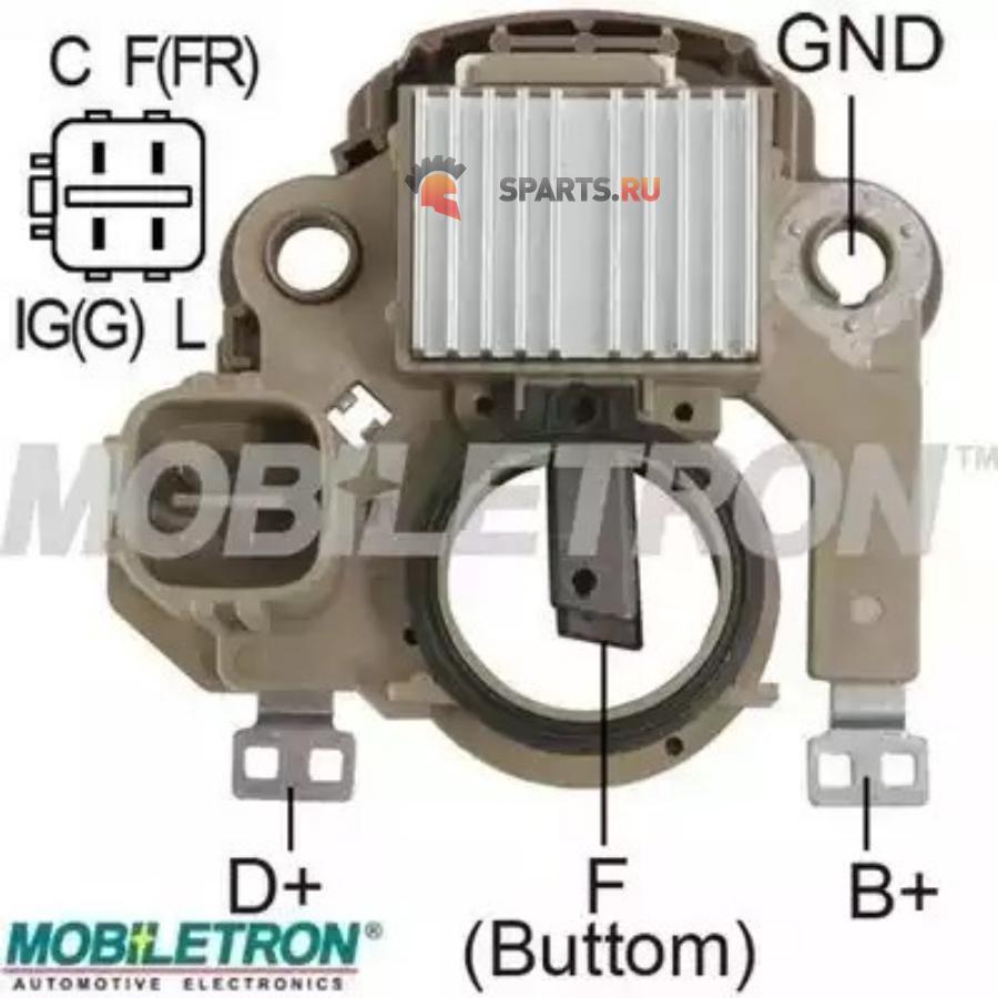 Фотография Реле-регулятор генератора MITSUBISHI 14.5V IM850230260 HONDA CIVIC 1.5 95-