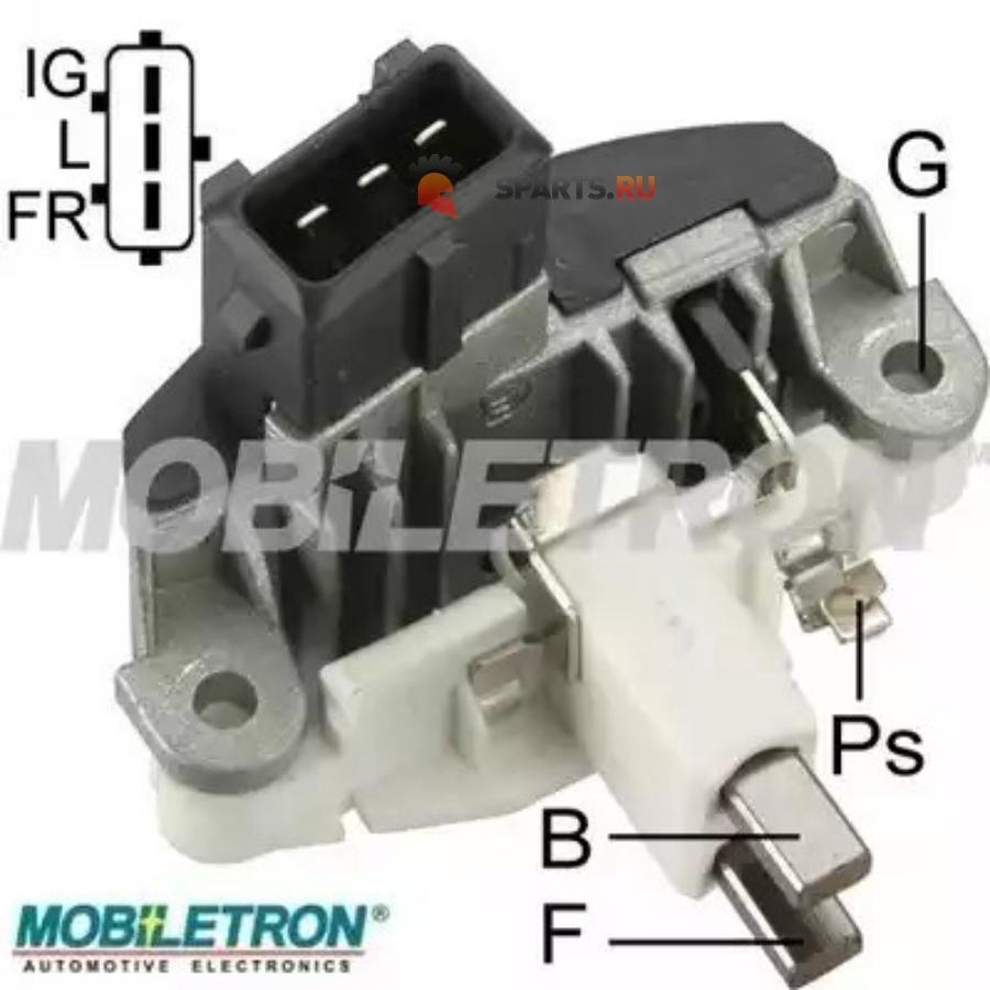 Фотография Реле-регулятор генератора BOSCH 14.5V 14MM 1197311545138999 BMW E39, 38 96-00