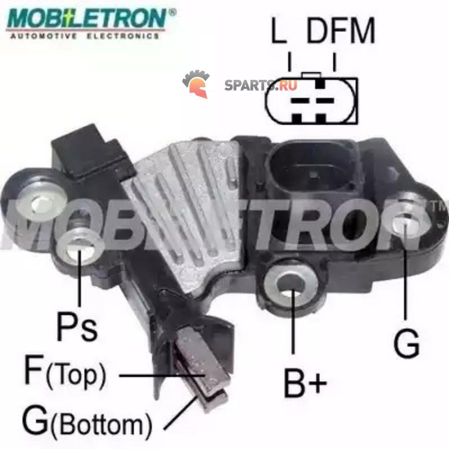 Фотография Регулятор напряжения генератора Ford Transit, Peugeot Boxer 2.2TDCi 06