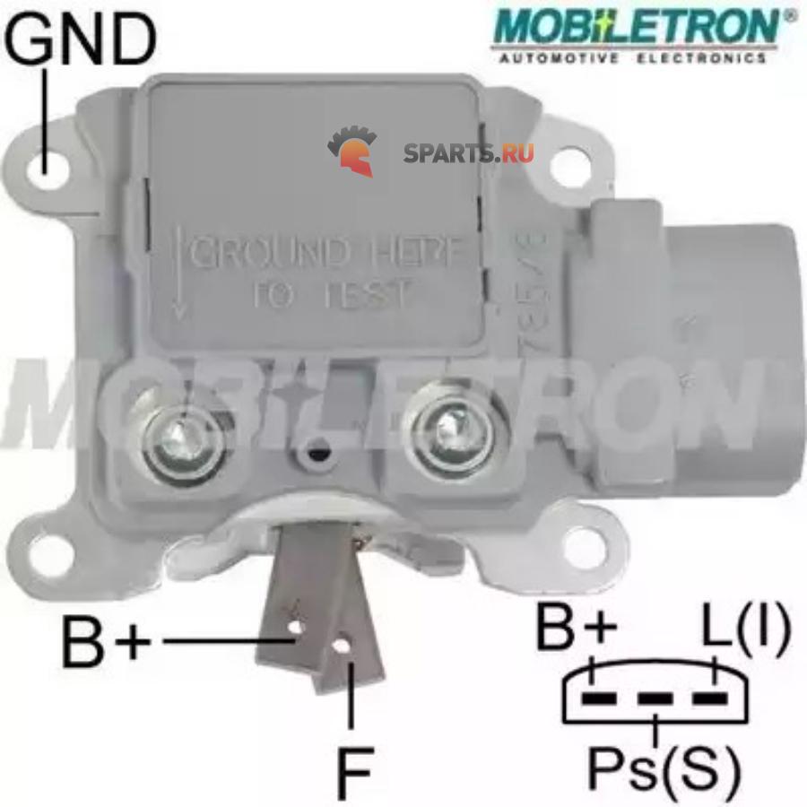 Фотография Реле-регулятор генератора с щеткодержателем FORD 14.7V F0DZ10316AF794BYR-F33B232414 FORD ESCOR