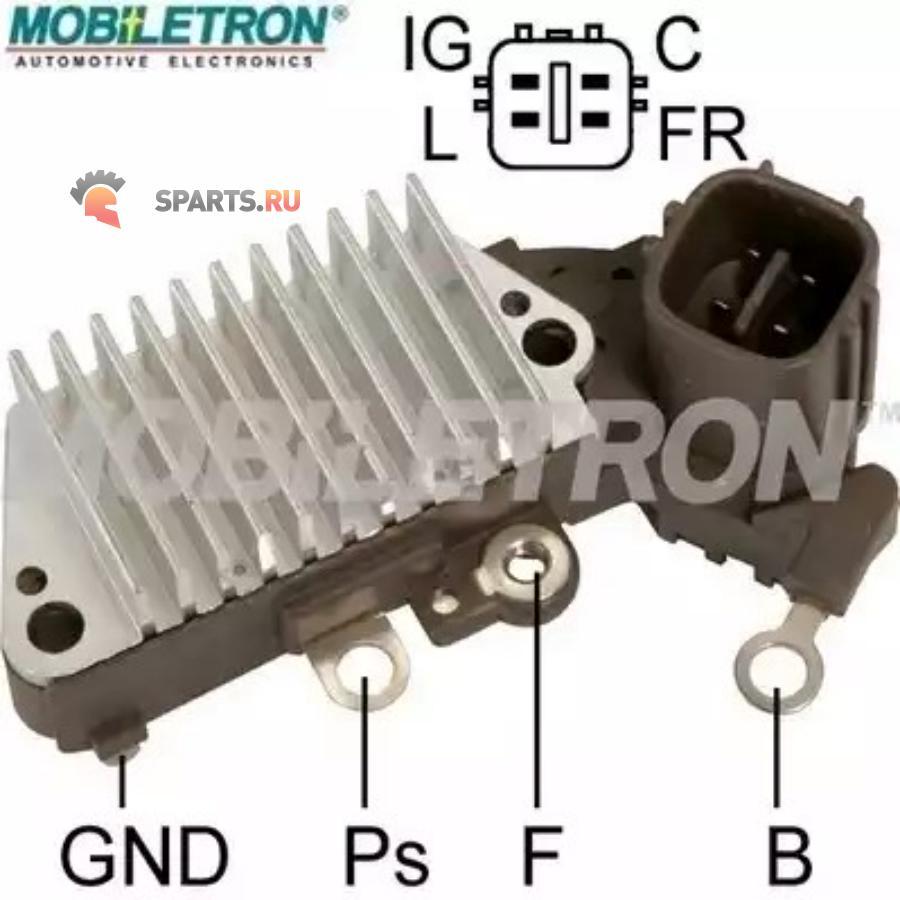 Фотография Реле-регулятор генератора NIPPONDENSO 14.6V 1260002160IN445YR-610 HONDA CIVIC