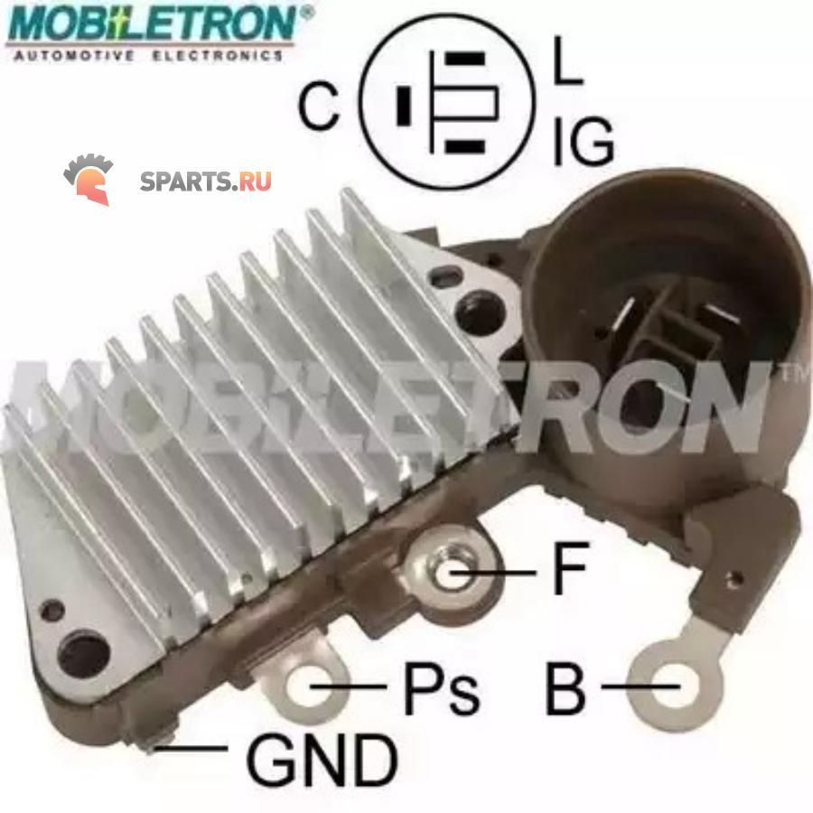 Фотография Реле-регулятор генератора NIPPONDENSO 14.6V 1260000840IN252YR-652138664 CHEVROLET