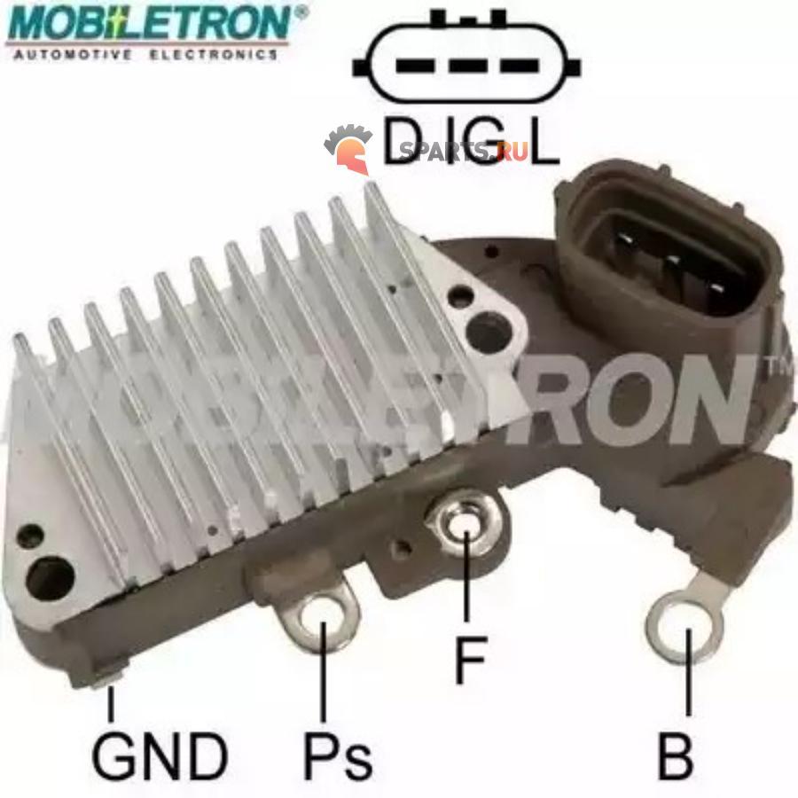Фотография Реле-регулятор генератора NIPPONDENSO 14.6V 1260002680139268