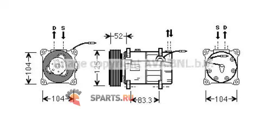 Фотография VOK122_Compressor Volvo 960x