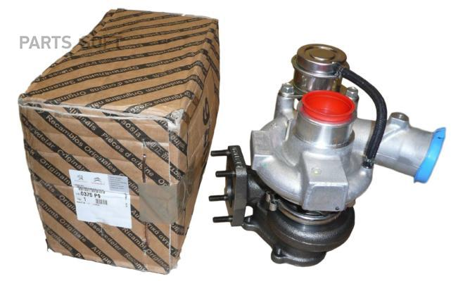Турбина и компрессор