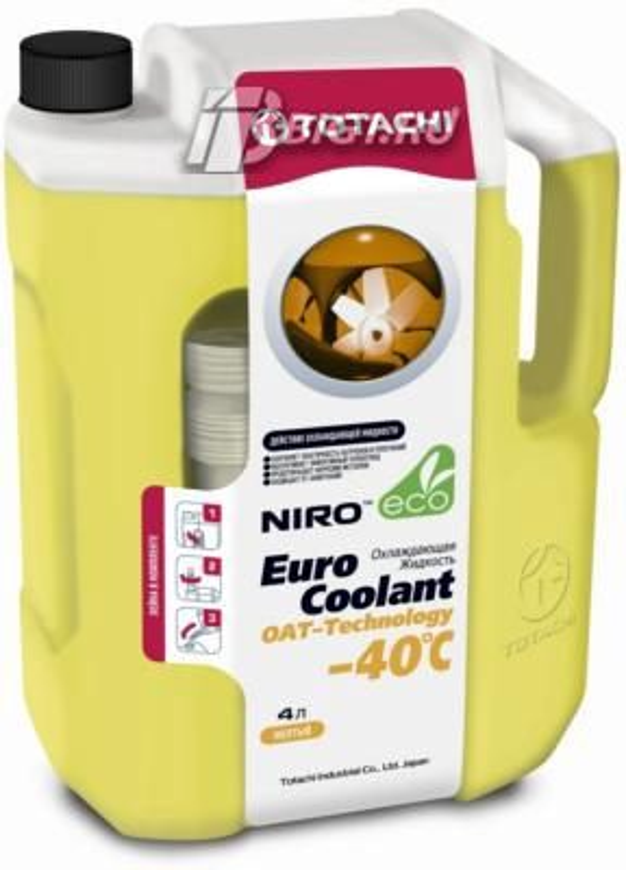 Антифриз NIRO EURO COOLANT OAT TECHNOLOGY -40°C, 4л