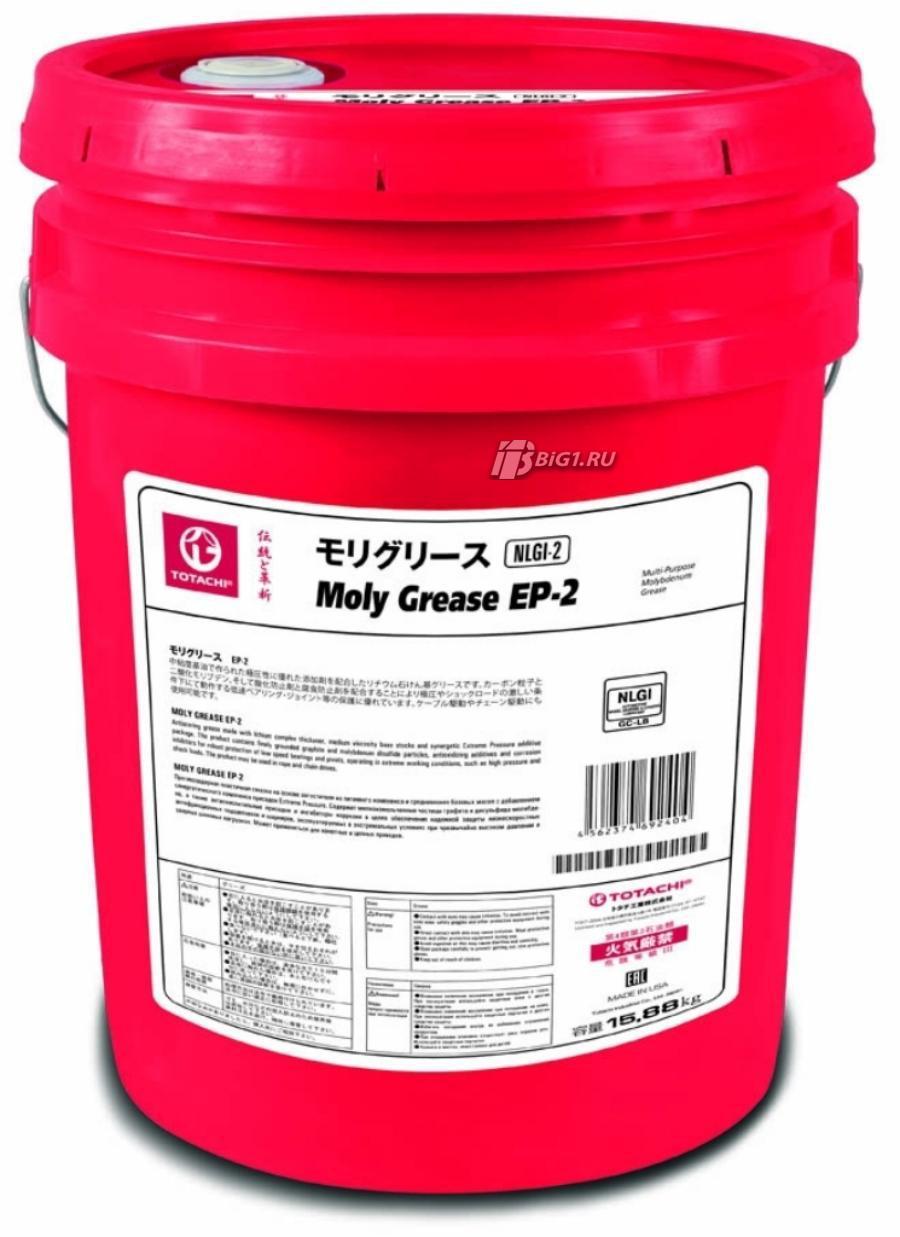 Пластичная смазка TOTACHI MOLY EP 2 (black) 15 кг
