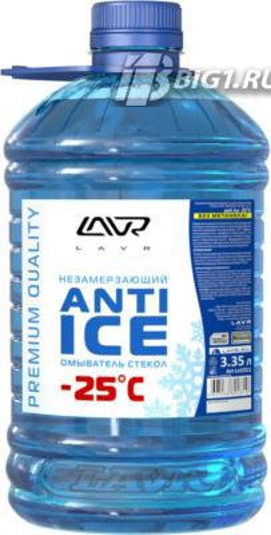 Незамерзающий омыватель стекол (-25) LAVR Anti Ice