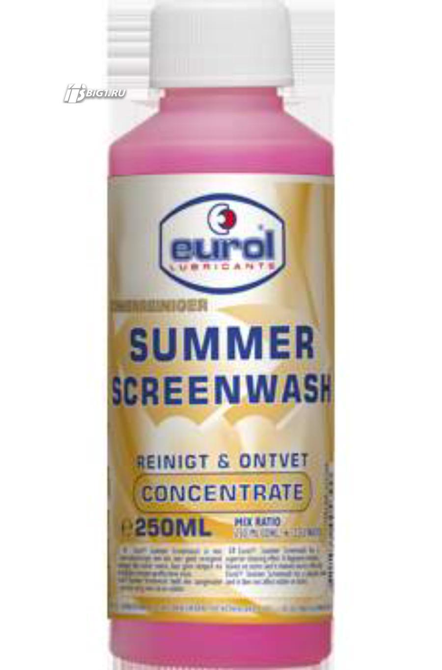 Моющее средство для лобовых стекол Eurol Summer Wash